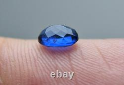 0.50 CRT extremely rare Fluorescent top blue Afghanite cut gemstone@Afghan