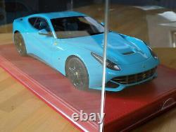 118 BBR Ferrari F12 Berlinetta Baby Blue P1841BBHB (#9/15) EXTREMELY RARE