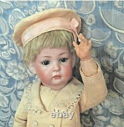 18 EXTREMELY RARE Antique KLEY HAHN 169 Closed Mouth POUTY Character BOY