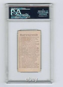 1910 E98 Hughey Jennings (HOF) PSA 3 Blue, extremely rare, POP 1, none higher