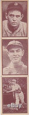 1931 W517 Lefty Grove uncut sheet- extremely RARE withPete Donahue & Lu Blue