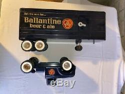 1963 Structo Ballantine Beer Tractor Trailer Truck Extremely Rare