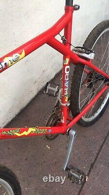 1989 Haro Extreme Mountain Bike Rare Vintage 19.5 Inch Frame Deore