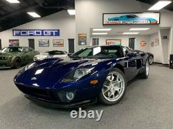 2005 Ford Ford GT THE HOLY GRAIL! RARE MIDNIGHT BLUE STRIPE DELETE