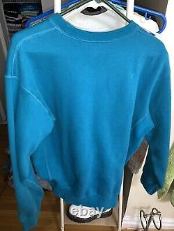 2006 Teal Supreme Box Logo Crewneck Size Large 100% Authentic. EXTREMELY RARE