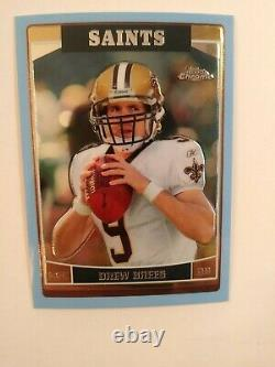 2006 Topps Chrome Blue Serial#22/50 Drew Brees #155extremely Rare