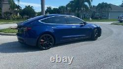 2018 Tesla 3 Performance Model 3