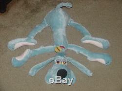 22 FooFur Blue Plush Stuffed Floppy Dog By Seppimendez 1984 Extremely Rare Nice