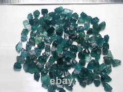 300 Carats Extremely Rare Facet Grade Blue Grandidierite Rough Lot@madagascar