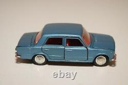 A21 143 Edil Toys 7 Fiat 124 Metallic Blue Excellent Extremely Rare Hubs
