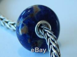 AUTHENTIC TROLLBEADS LE Royal Blue Sodalite Bead EXTREMELY RARE & HTF (ONE) NEW