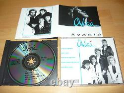 AVARIA-Self Titled 1988 Extremely Rare UK AOR BEYOND THE BLUEPARANOJAP. M. HEAT