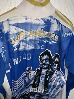 Adidas Originals EXTREMELY RARE Track Series HOLLYWOOD LA Jacket S