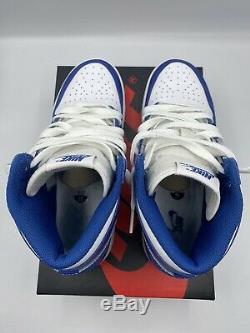 Air Jordan 1 High OG Storm Blue Sz. 7y Near DS With Receipt Extremely Rare Size