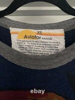 Aviator Nation EXTREMELY RARE Warrior Sweatshirt