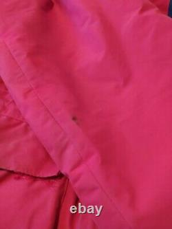 Berghaus Serac Extrem RARE Vintage Insulated Gore-Tex 80s Pink/Navy Jacket L