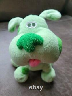 Blue's Clues plush GREEN PUPPY EXTREMELY RARE! Viacom, 2003 Great gift