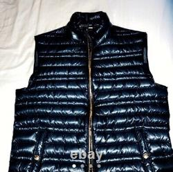 Burberry Brit Trowby Men's Goose Down Puffer Quilted Gilet Extremely Rare Find