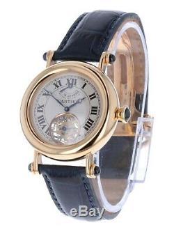 Cartier Diabolo Tourbillion Extremely Rare Collectors Piece 37mm 2050