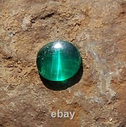 Cats Eye Emerald Extremely Rare