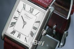 Chopard Tank Model Extremely Rare Roman Numeral Men's watch Manual winding 5221