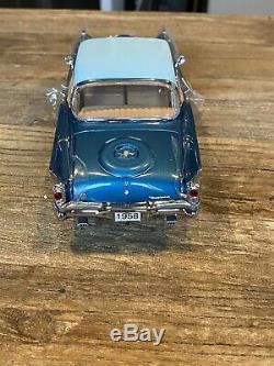 Danbury Mint 1958 PACKARD HAWK-NMIB! EXTREMELY RARE! STRIKING BLUE! GORGEOUS