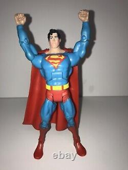 Dc Universe Classics Prototype Light Blue Superman Extremely Rare