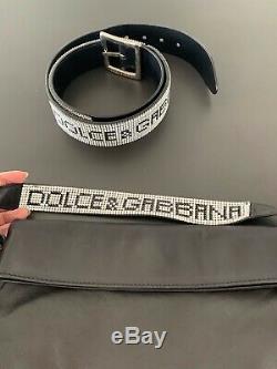 Dolce Gabbana denim jacket crystals collar extremely RARE
