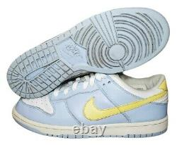 EXTREMELY RARE! 2004 Nike Dunk Low 309324-471 Sky Blue Women's Cognac Sz 10