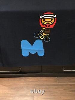 EXTREMELY RARE Bape x Baby Milo BMX vintage T-Shirt Sz XXL