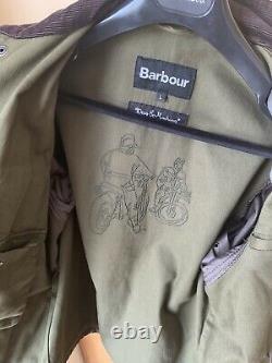 EXTREMELY RARE Barbour Deus Ex Machina Horatio Jacket Limited Ed Oi Polloi