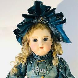 EXTREMELY RARE EARLY 16 BEBE JUMEAU ANTIQUE DOLL signed body and shoes