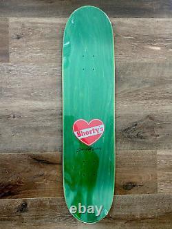 EXTREMELY RARE Shorty's SkateBlock RED/BLUE 8.25 Skateboard Muska Deck