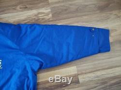 EXTREMELY RARE Subaru 1996 Hong Kong Beijing rally Blue Jacket 555 Size Large