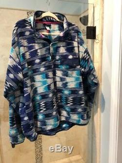 EXTREMELY RARE The Wave Patagonia Synchilla Snap-Front Pullover Jacket XXL