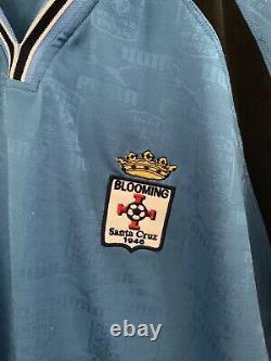 EXTREMELY RARE VINTAGE Puma Blooming Santa Cruz Bolivia Soccer Jersey Size XL
