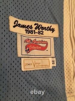 Extremely RARE James Worthy North Carolina All American Collection Size 52 Or XL