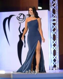 Extremely RARE Jovani Couture PAGEANT PROM BALL GOWN Originally Paid $3000