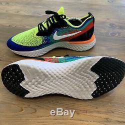 Extremely RARE Nike Epic React Flyknit Belgium Mens 11.5 US / 10.5 UK AT0054-700