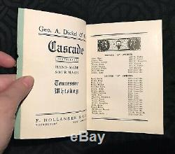 Extremely RARE Storyville Blue Book New Orleans Guide To Sporting Houses