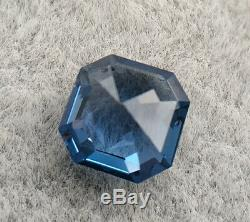 Extremely Rare! 0.70 Ct Natural No Heat Cobalt Blue Spinel GIA Octagonal VVS