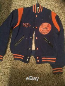 Extremely Rare 1970-71 Baltimore Bullets Eastern Conf. Champion Jacket NBA
