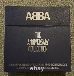 Extremely Rare Abba Single Collection- 26 Blue Vinyl Records Limited Edition