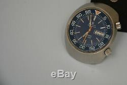 Extremely Rare Bulova Accutron Snorkel Watch 666 Feet Diapason Vintage