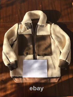 Extremely Rare DIOR Brown Double Face Shearling FW20/21 Rp 11450