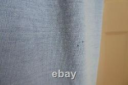Extremely Rare Early 1920s Blue Wool Jersey 3 Piece Ladies Walking Suit Ribbon