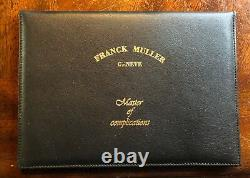 Extremely Rare Franck Muller Curvex Big Date 18KT WG Limited Edition 200 Made