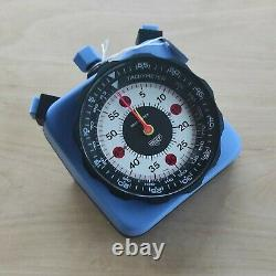 Extremely Rare Heuer Roadmaster 804.901 Blue Master Time Monte Carlo Sebring