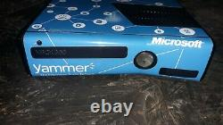 Extremely Rare Microsoft Yammer Xbox 360 S 250 GB Console Very Clean