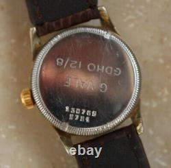 Extremely Rare Military Rolex Tudor Oyster 1938 Unisex Swiss 15 jewels